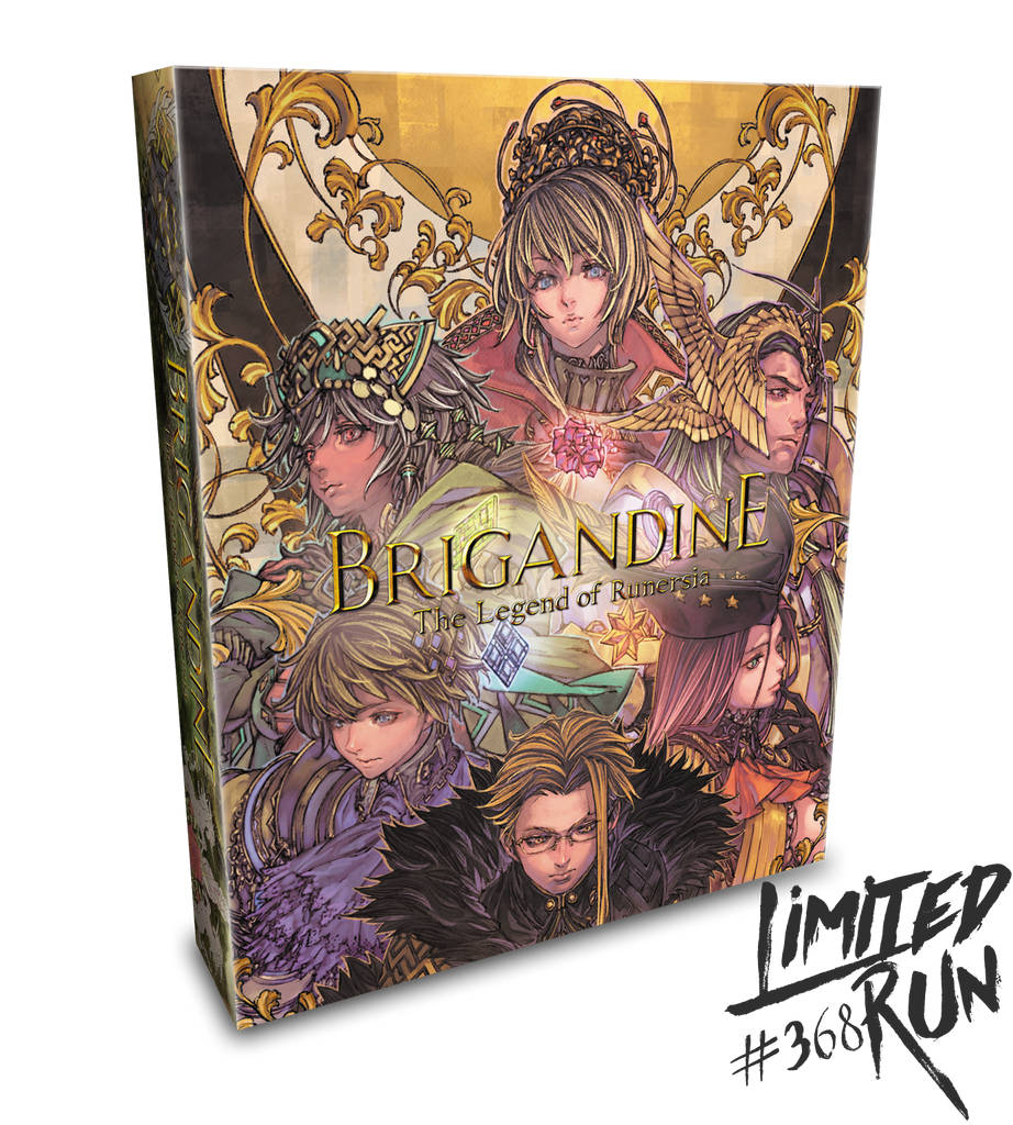Limited Run #368: Brigandine: The Legend of Runersia Collector's Edition (PS4)