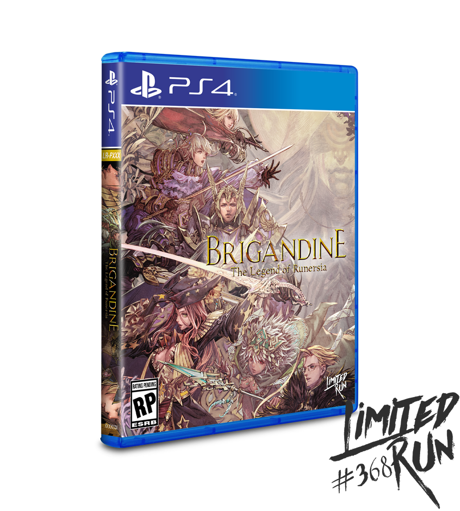 Limited Run #368: Brigandine: The Legend of Runersia (PS4)