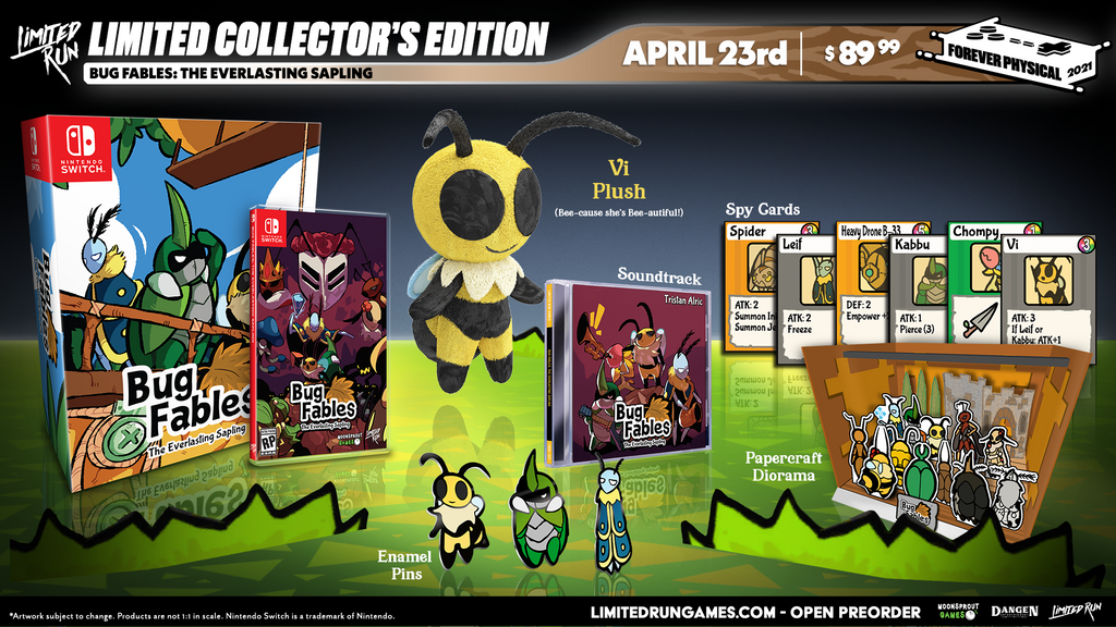 Switch Limited Run #105: Bug Fables: The Everlasting Sapling Collector's Edition