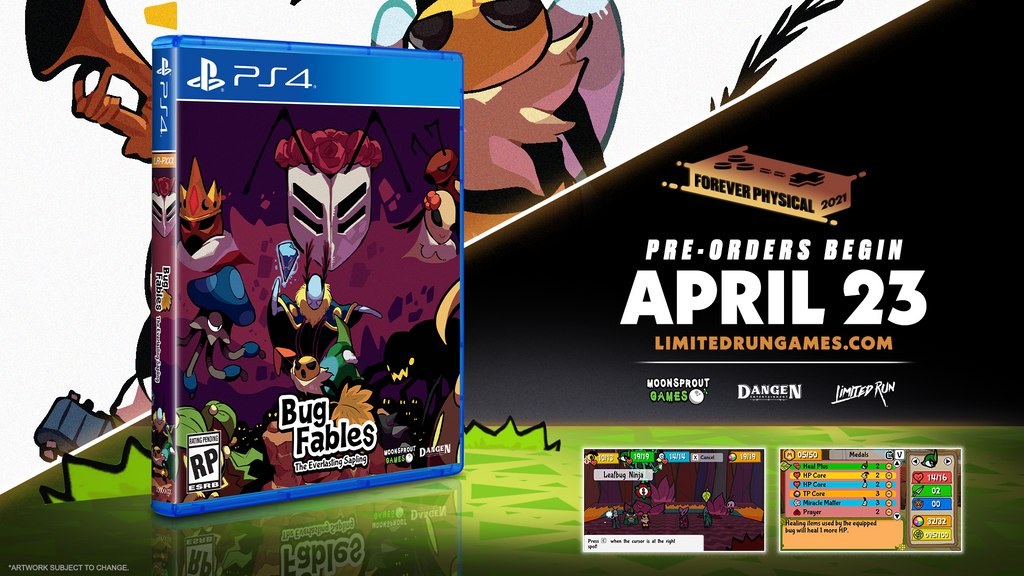 Limited Run #400: Bug Fables: The Everlasting Sapling (PS4)