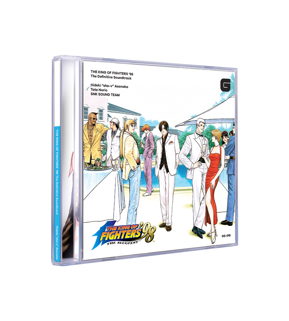 The King of Fighters '98 CD Soundtrack [PREORDER]