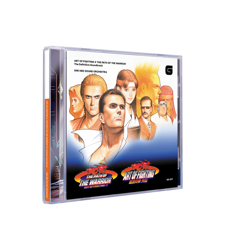 ART OF FIGHTING 3: THE PATH OF THE WARRIOR Soundtrack CD