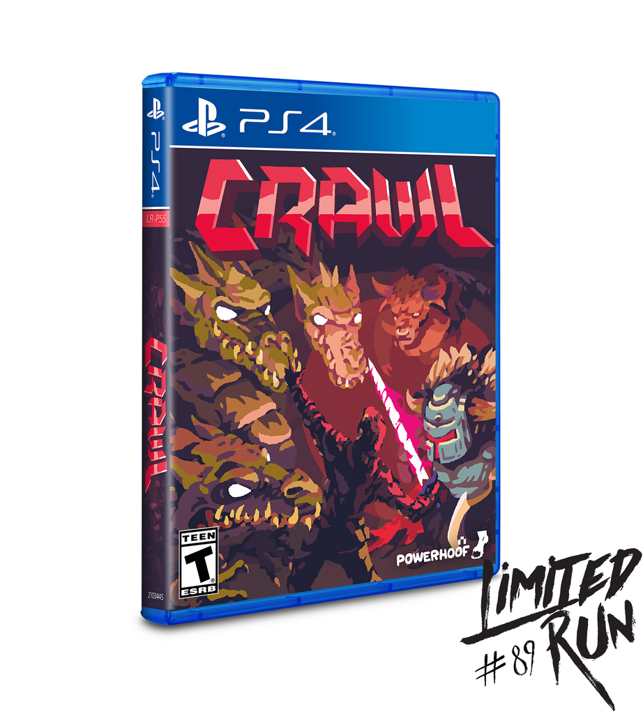 Limited Run #89: CRAWL (PS4)