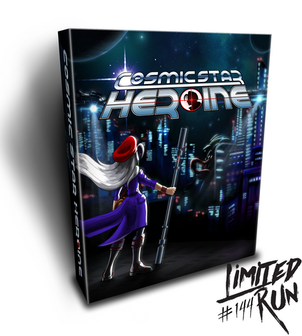 Limited Run #144: Cosmic Star Heroine Collector's Edition (PS4)