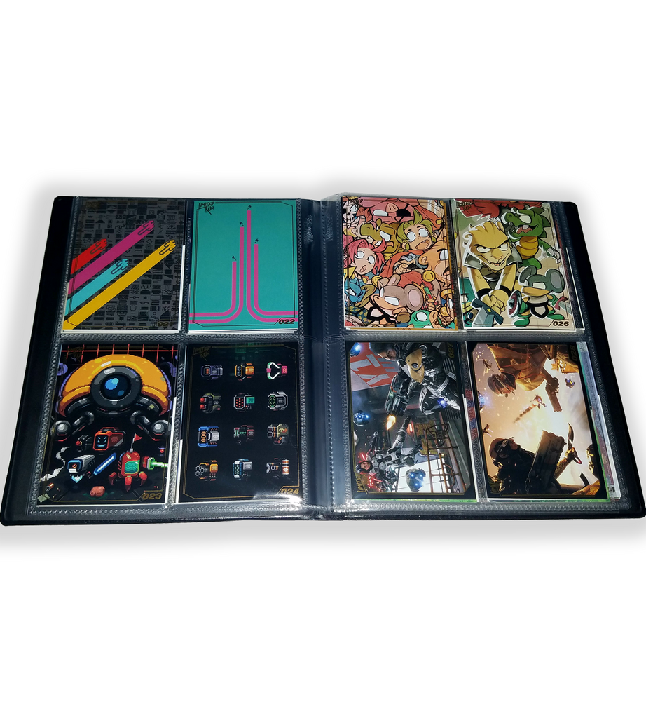 Limited Run Games Trading Card Binder