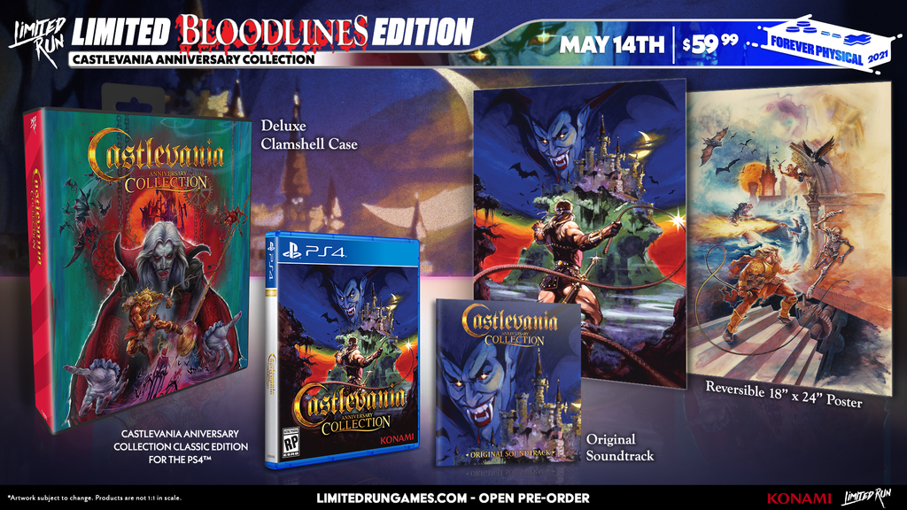Limited Run #405: Castlevania Anniversary Collection - Bloodlines Edition (PS4)
