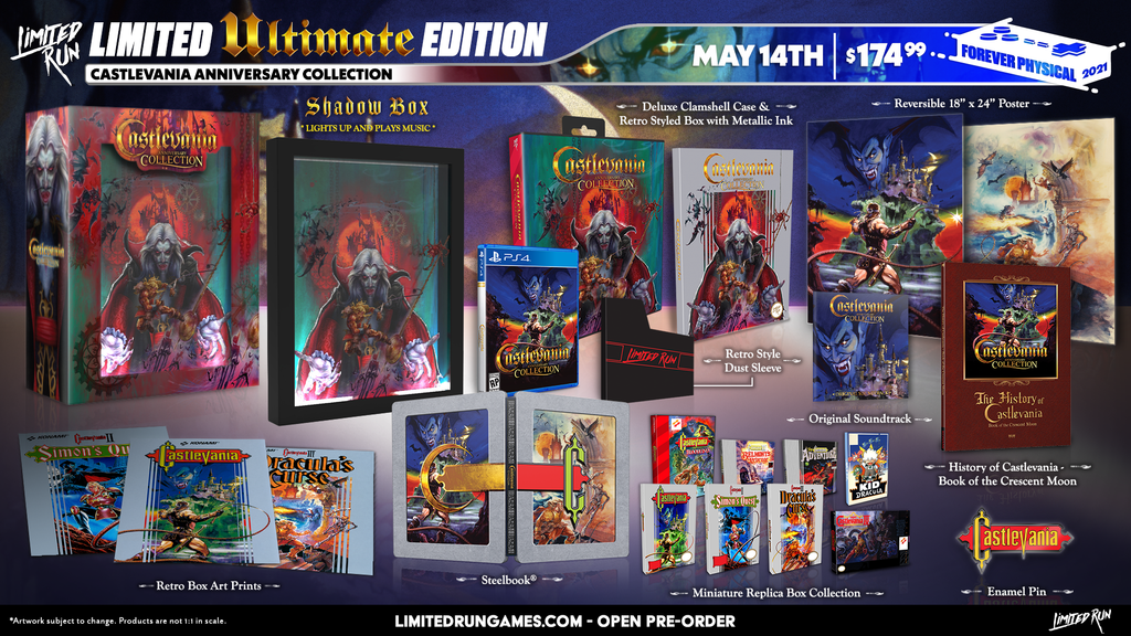 Limited Run #405: Castlevania Anniversary Collection - Ultimate Edition (PS4)