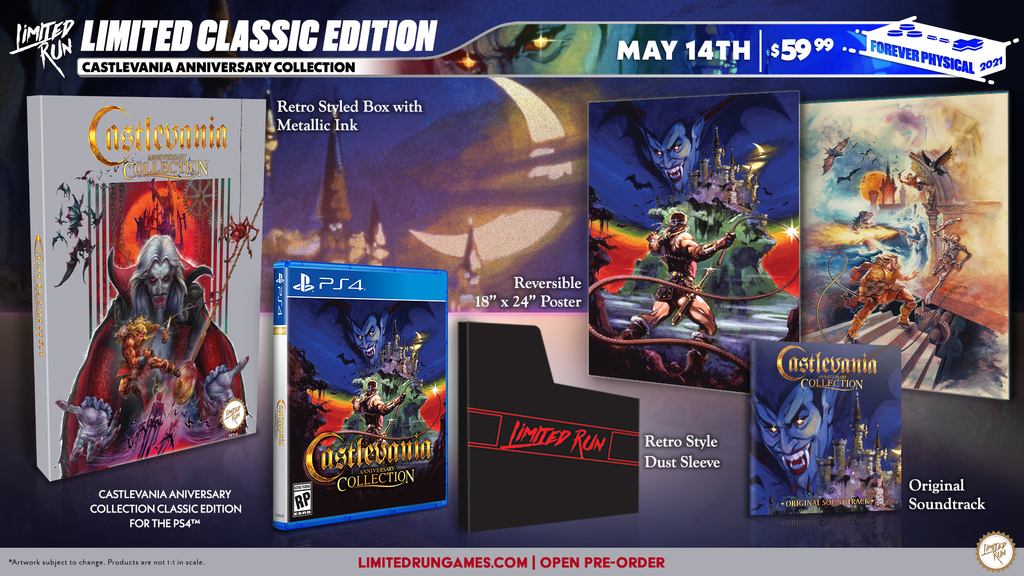 Limited Run #405: Castlevania Anniversary Collection - Classic Edition (PS4)