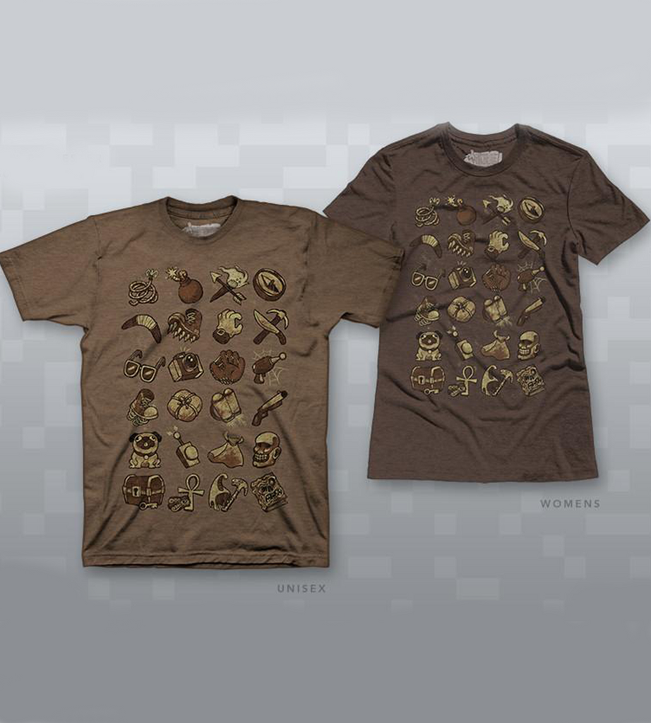 Spelunky Cave Cache Shirt