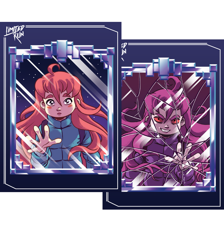 Celeste Trading Card Set (2 Cards)