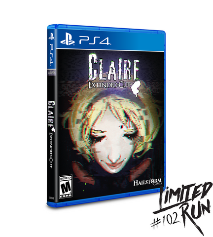 Limited Run #102: Claire: Extended Cut (PS4)