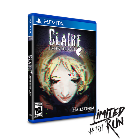 Limited Run #101: Claire: Extended Cut (Vita)