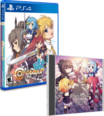 Limited Run #118: Croixleur Sigma Soundtrack Bundle (PS4)