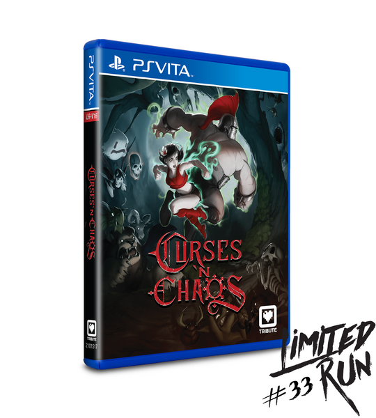 Limited Run #33: Curses 'N Chaos (Vita)