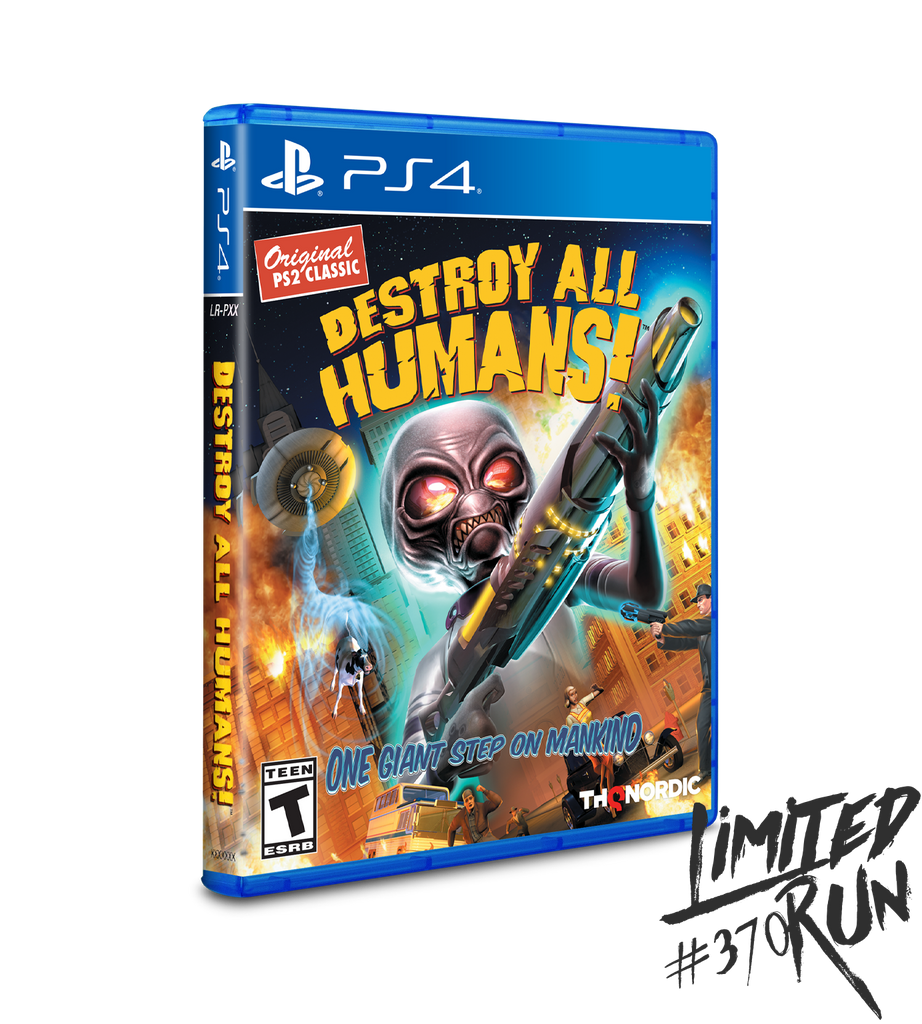Limited Run #370: Destroy All Humans! (PS4)