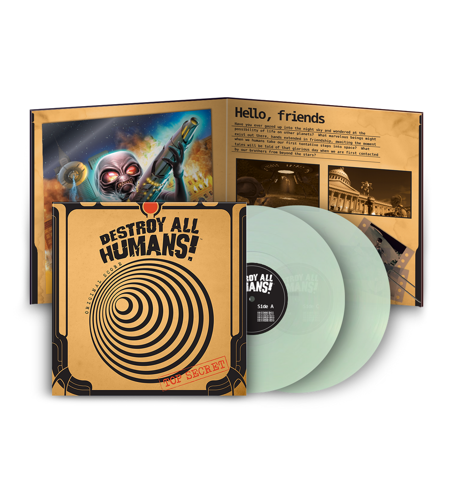 Destroy All Humans! 2LP Soundtrack Vinyl