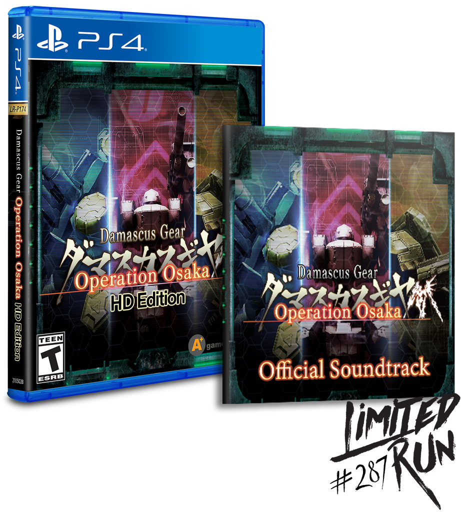 Limited Run #287: Damascus Gear Operation Osaka Soundtrack Bundle (PS4)