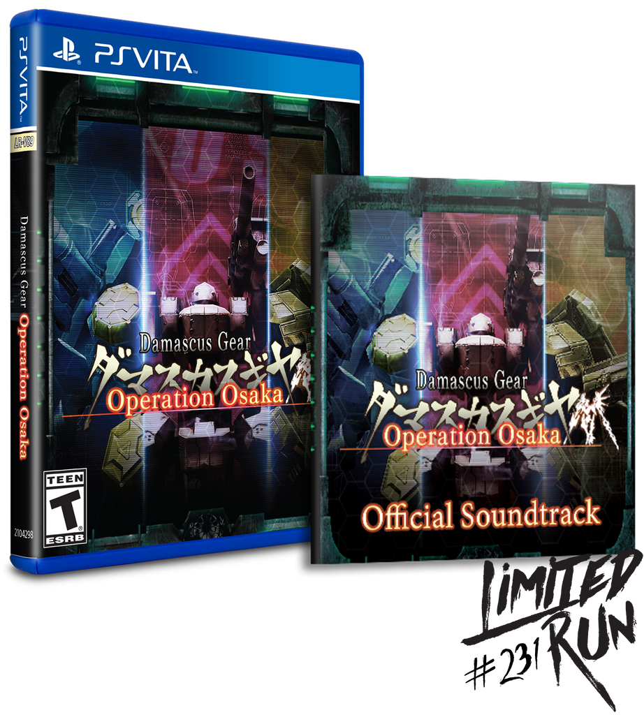 Limited Run #231: Damascus Gear Operation Osaka Soundtrack Bundle (Vita)