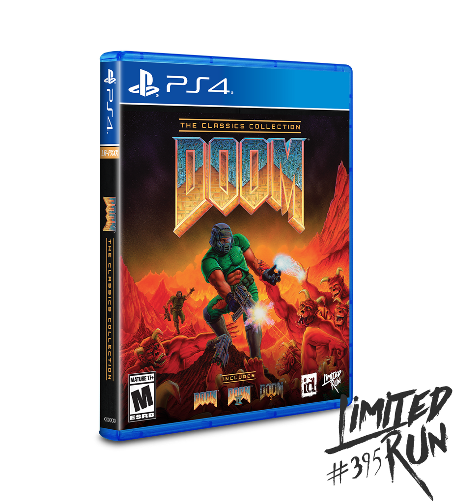 Limited Run #395: DOOM: The Classics Collection (PS4)