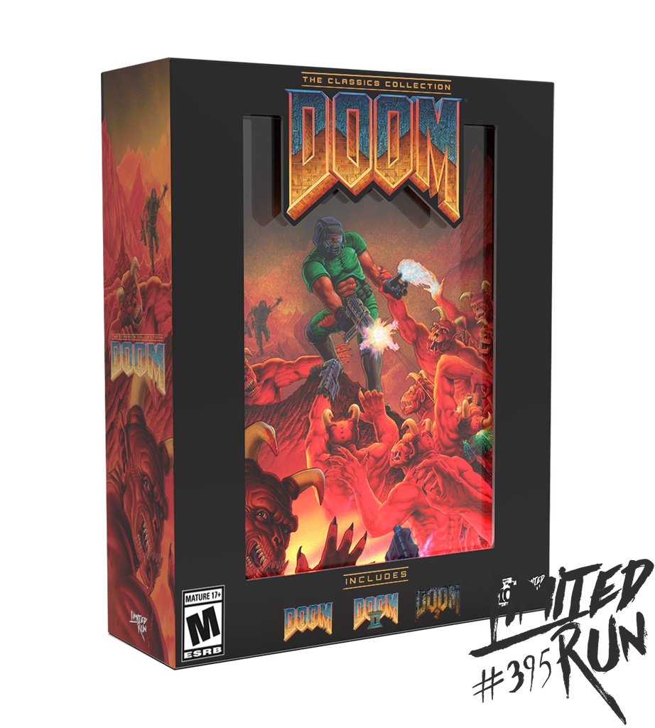 Limited Run #395: DOOM: The Classics Collection Collector's Edition (PS4)