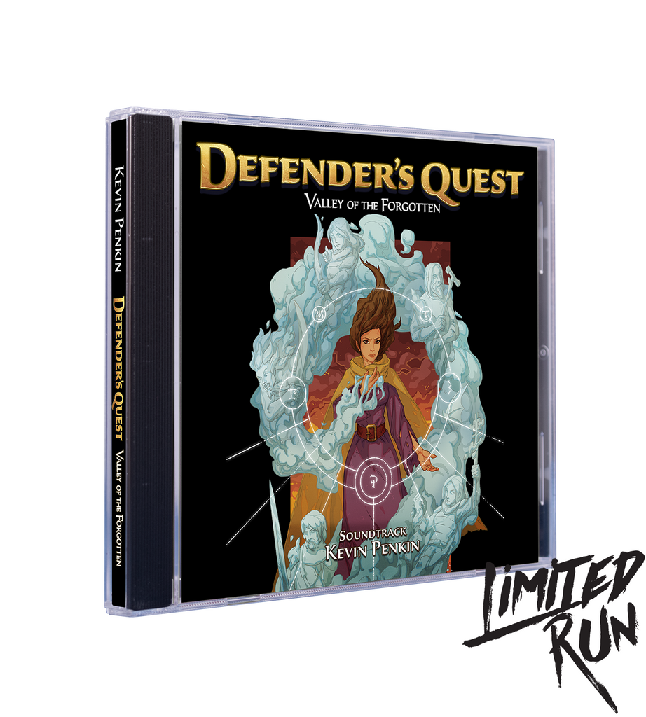 Defender's Quest Soundtrack CD