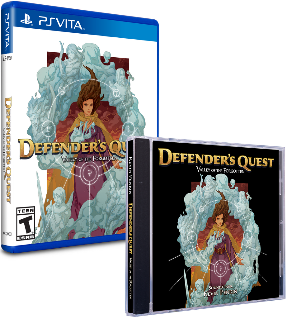 Limited Run #185: Defender's Quest Soundtrack Bundle (Vita)