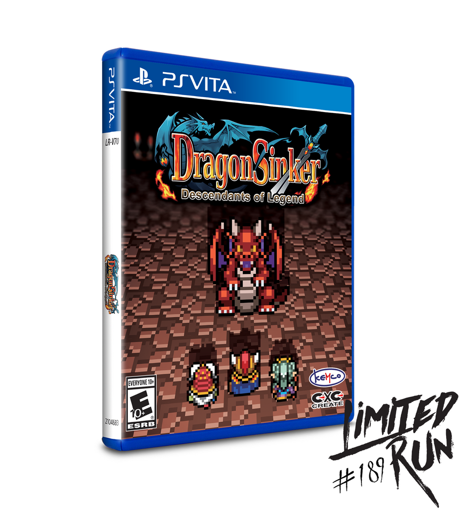 Limited Run #189: Dragon Sinker (Vita)