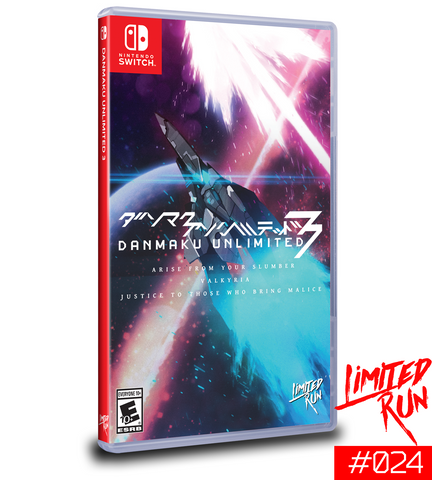 Switch Limited Run #24: Danmaku Unlimited 3 [PREORDER]