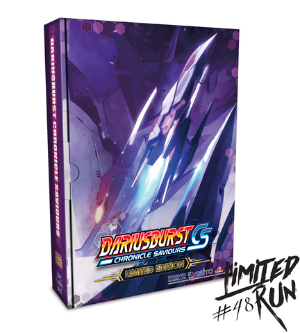Limited Run #48: DARIUSBURST CS (PS4) Limited Edition