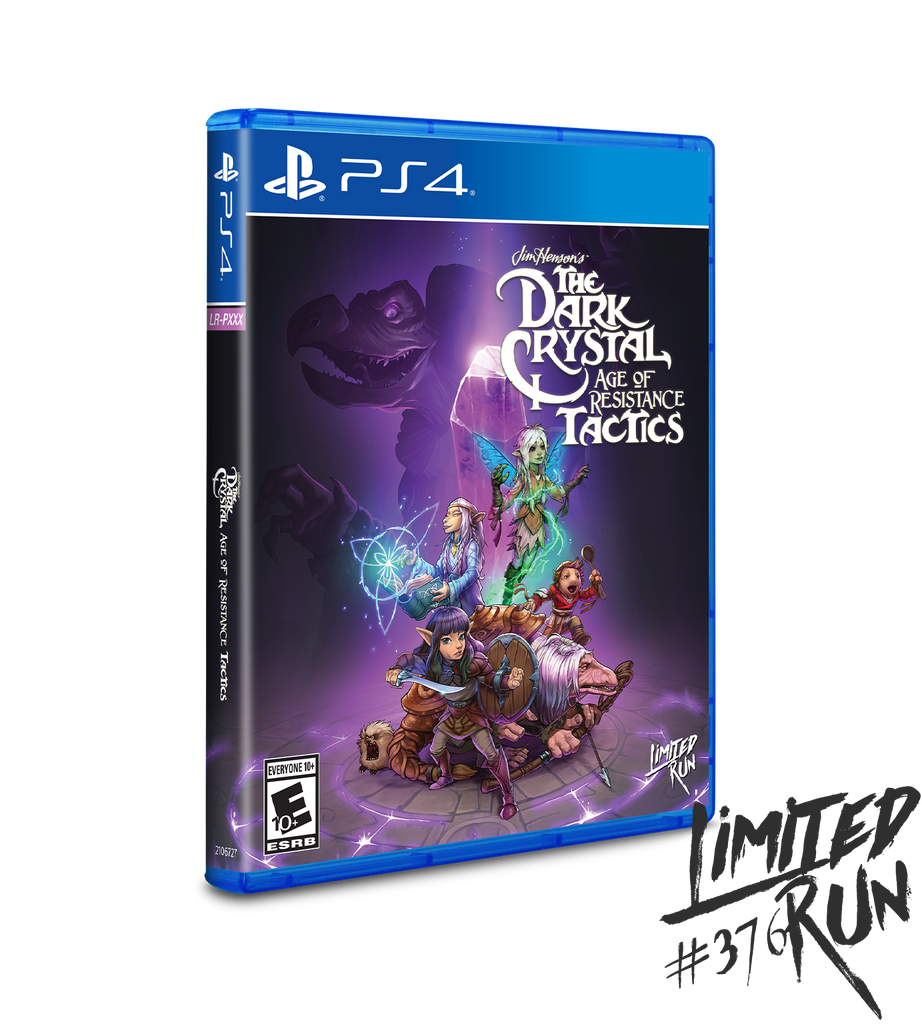 Limited Run #376: The Dark Crystal: Age of Resistance Tactics (PS4)