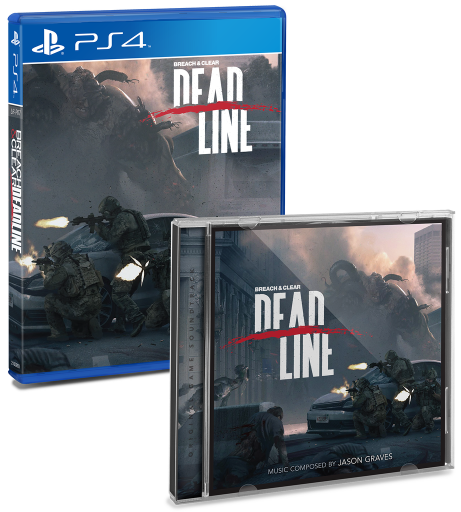 Limited Run #14: Breach & Clear: Deadline Soundtrack Bundle (PS4)