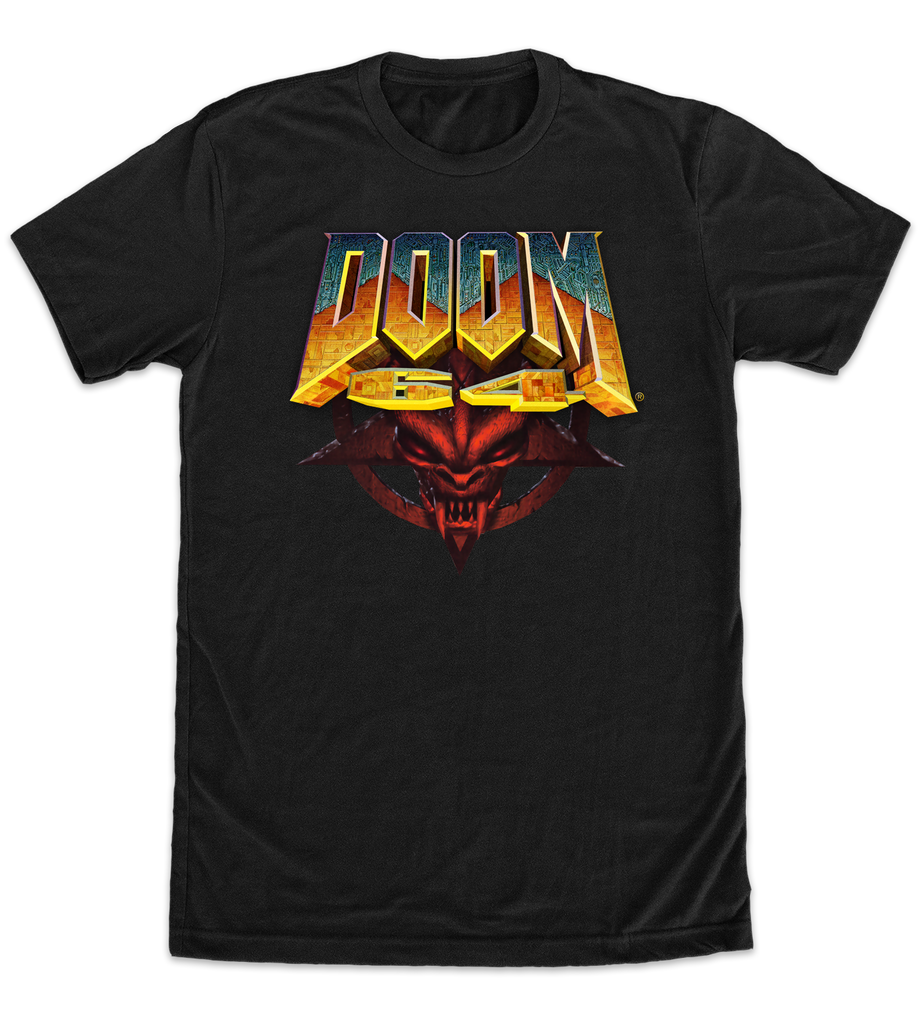 DOOM 64 Retro T-Shirt (Limited Run Games Exclusive)