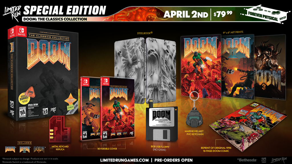 Switch Limited Run #102: DOOM: The Classics Collection Special Edition