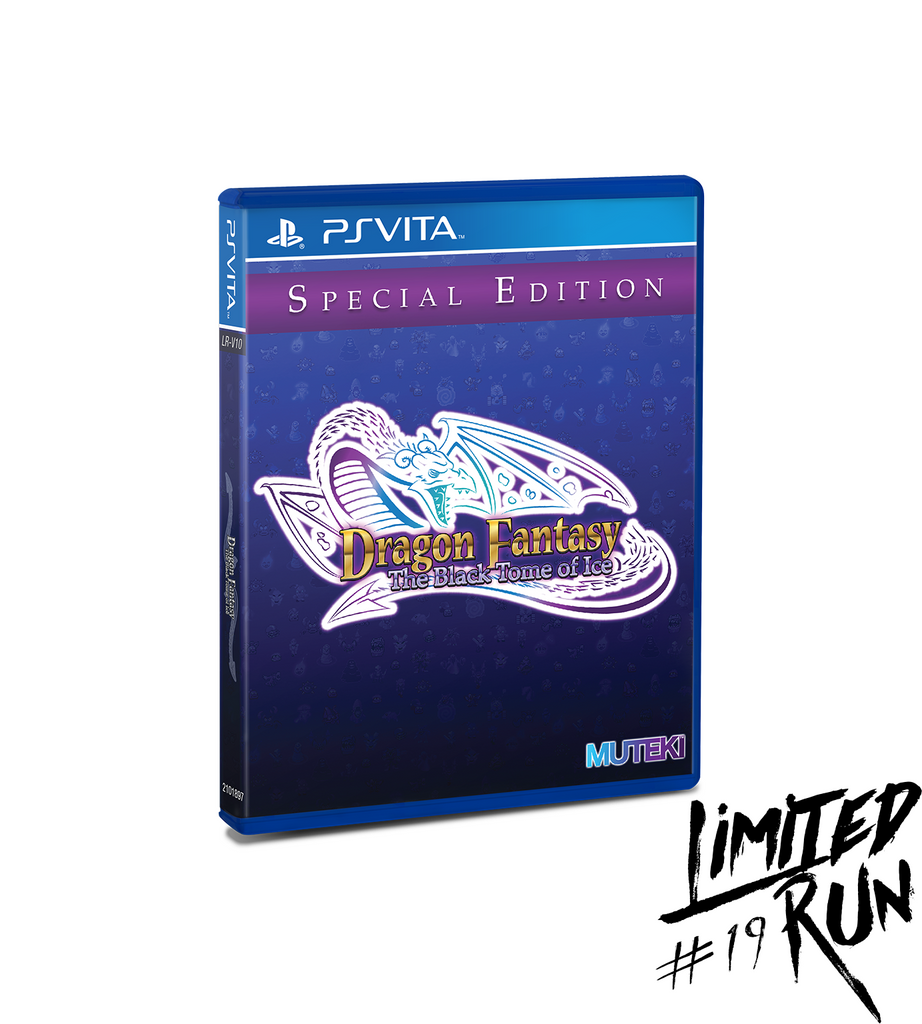 Limited Run #19: Dragon Fantasy The Black Tome of Ice (Vita)