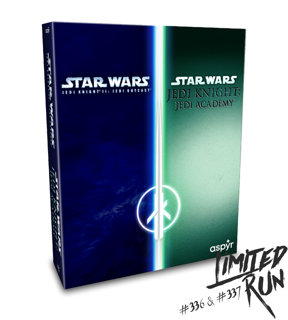 Limited Run #336 & #337: Star Wars Jedi Outcast/Jedi Academy (PS4) [PREORDER]