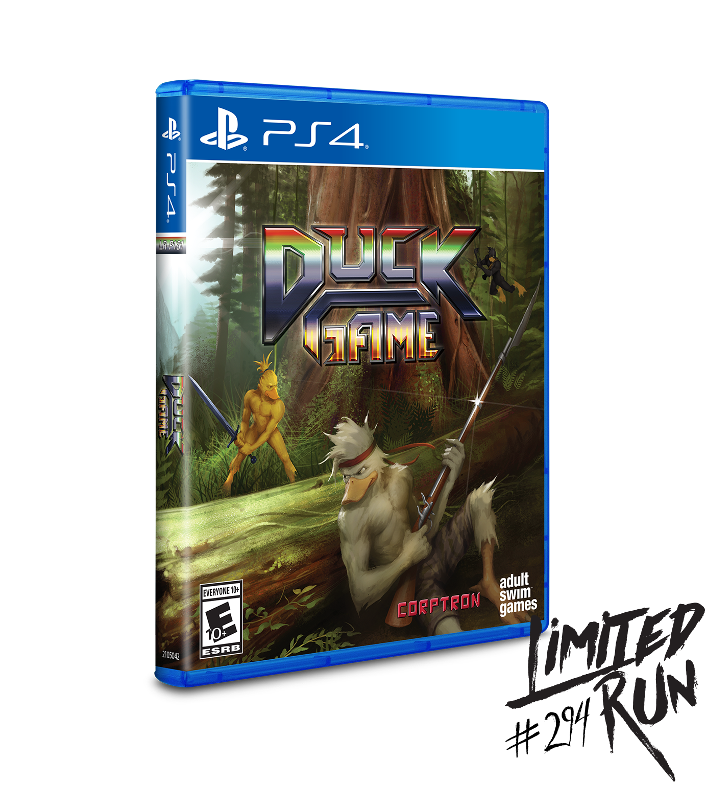 Limited Run 294 Duck Game Ps4 Preorder Limited Run Games
