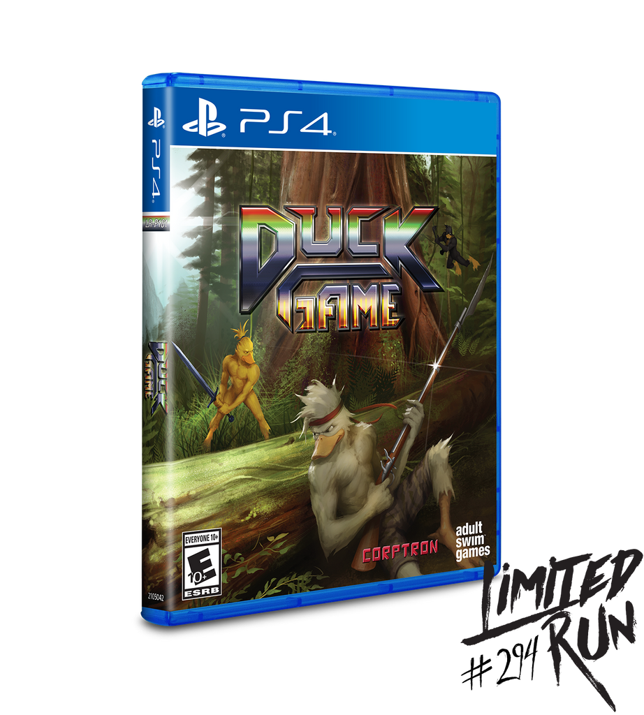 Limited Run #294: Duck Game (PS4) [PREORDER]