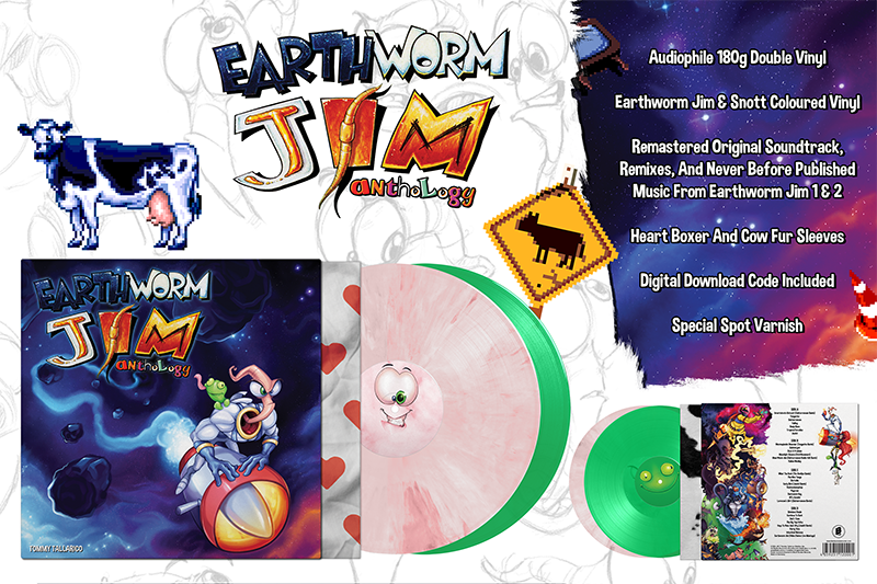 Earthworm Jim Anthology Soundtrack Vinyl