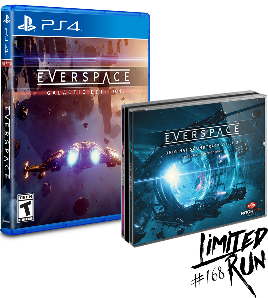 Limited Run #168: Everspace Galactic Edition (PS4) [PREORDER]