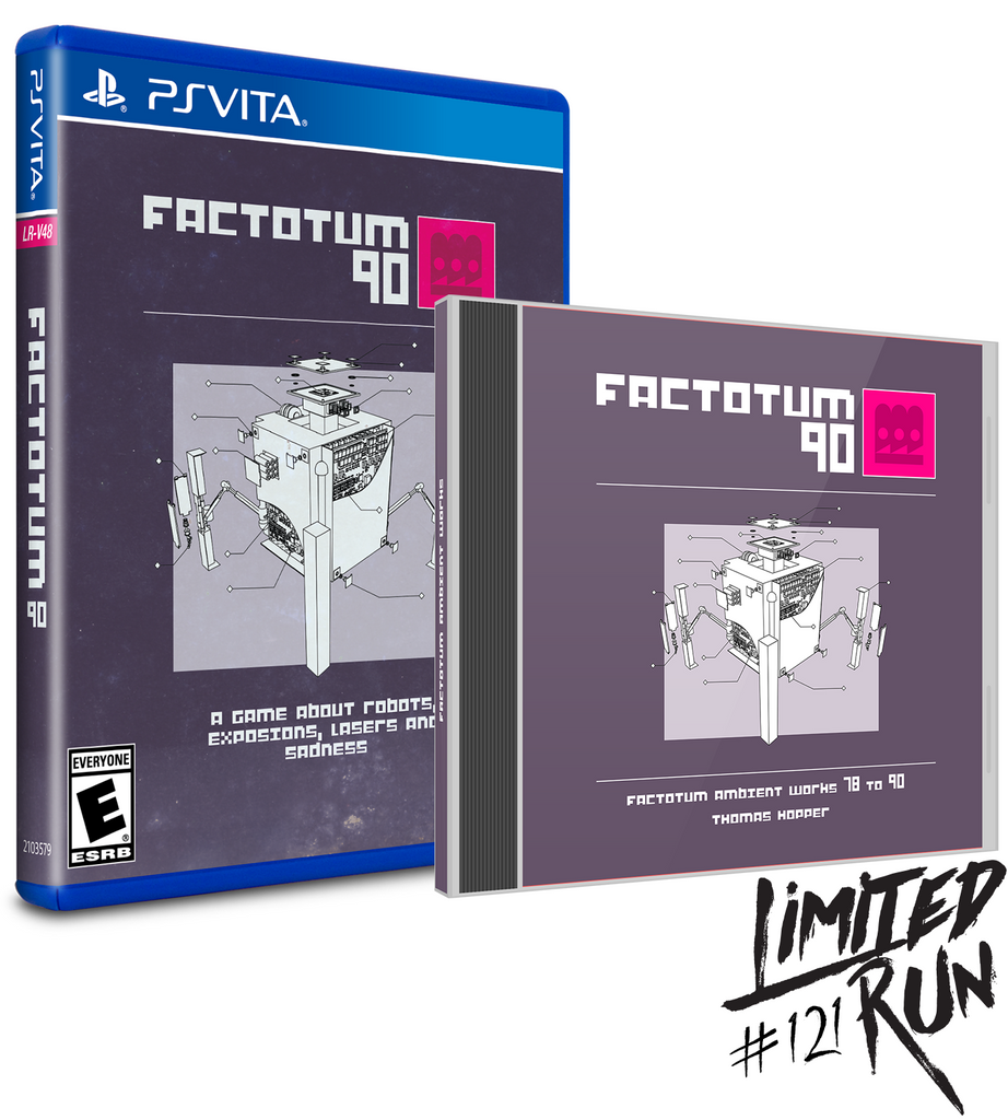 Limited Run #121: Factotum 90 Bonus Edition (Vita)