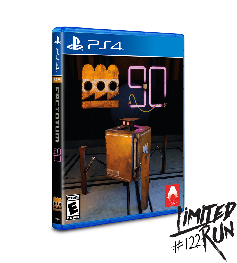 Limited Run #122: Factotum 90 (PS4)