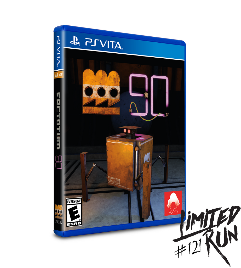 Limited Run #121: Factotum 90 (Vita)