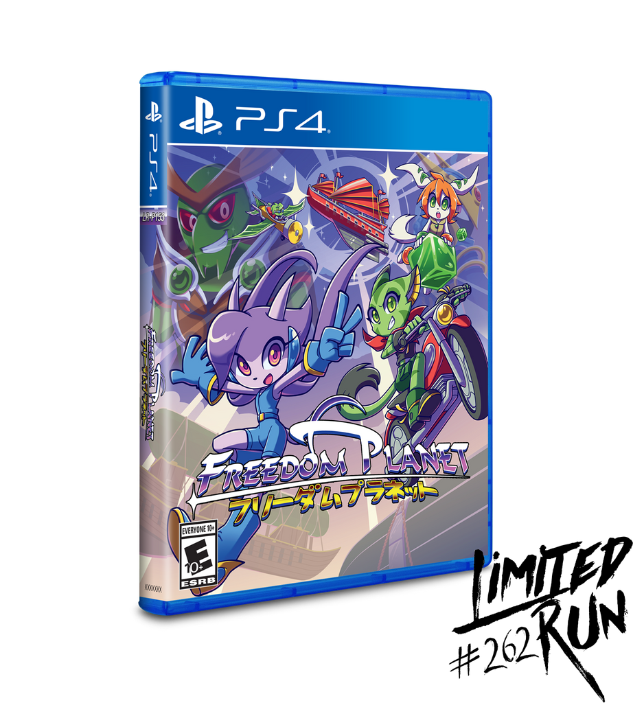 Limited Run #262: Freedom Planet (PS4) [PREORDER]