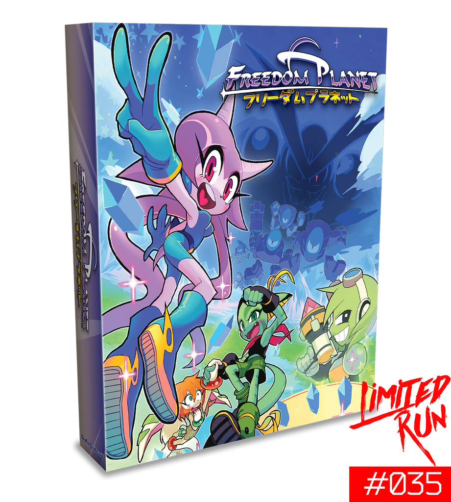 Switch Limited Run #35: Freedom Planet Deluxe Edition