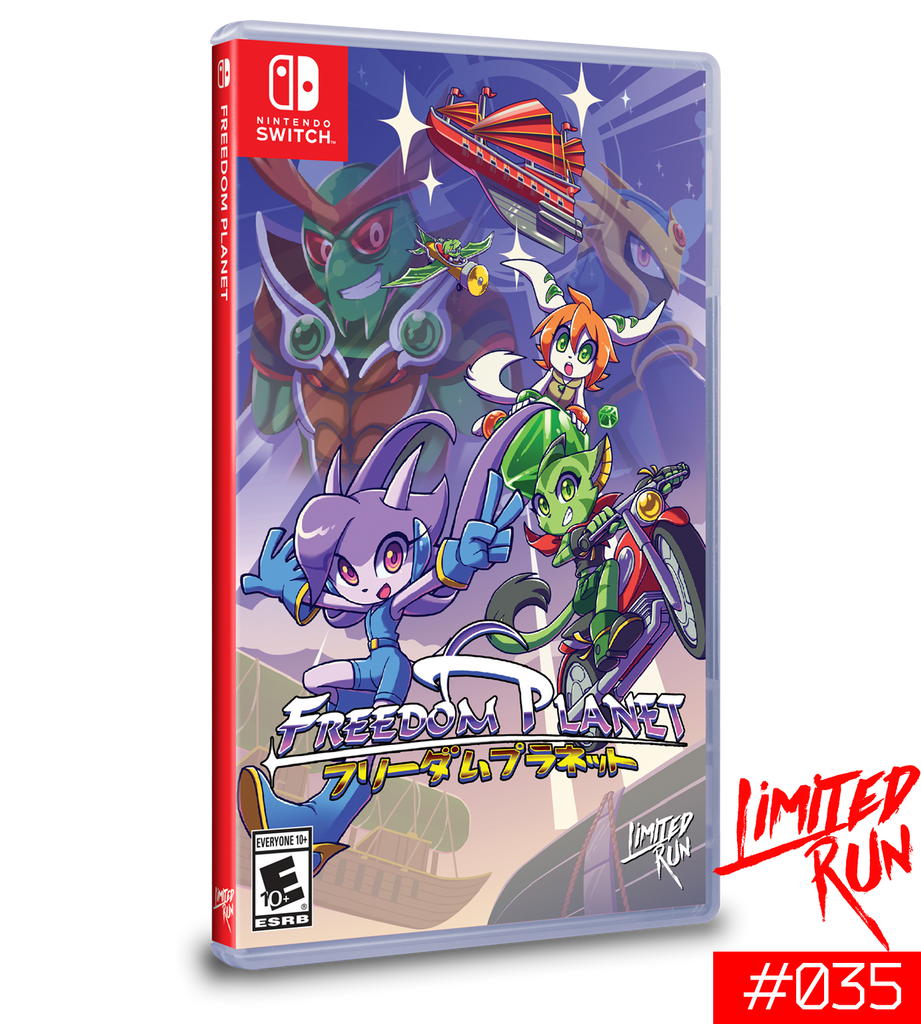 Switch Limited Run #35: Freedom Planet [PREORDER]