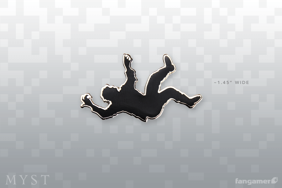 MYST Falling Guy Pin