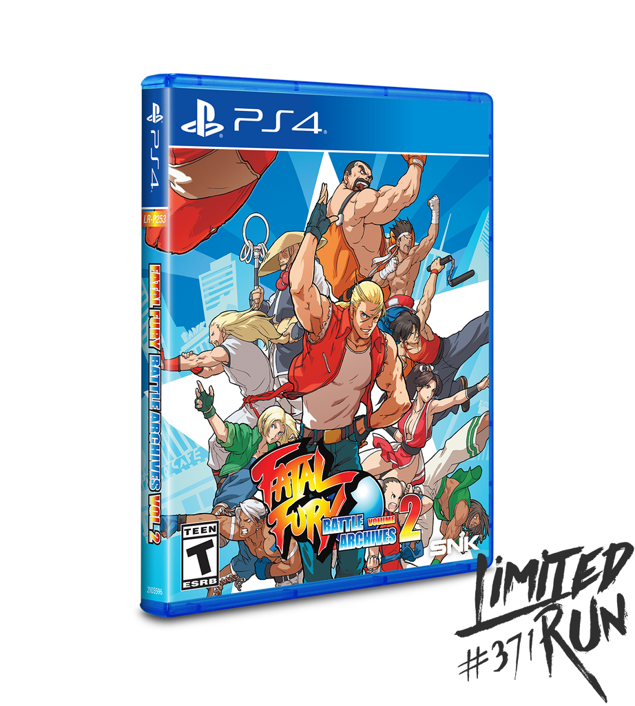 Limited Run #371: Fatal Fury: Battle Archives Volume 2 (PS4)