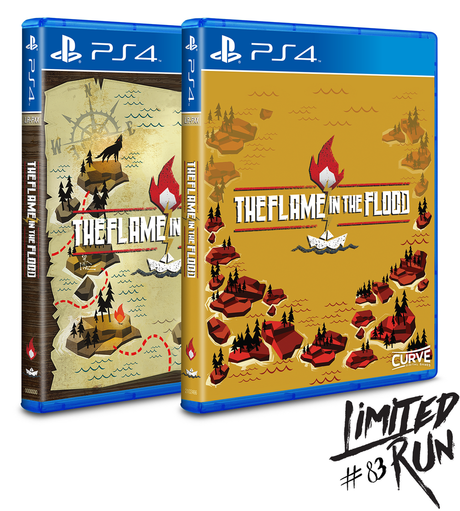 Limited Run #83: The Flame in the Flood (PS4) Double Pack