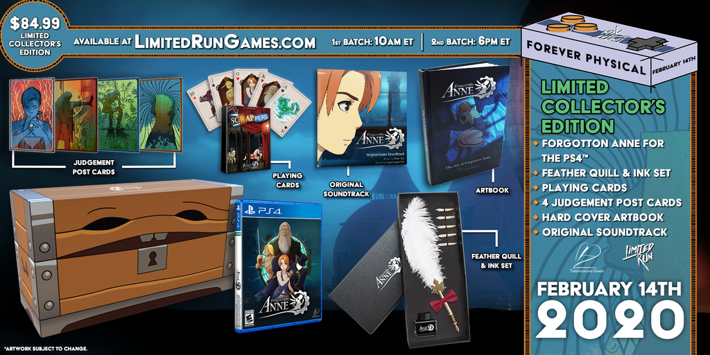 Limited Run #325: Forgotton Anne Collector's Edition (PS4)