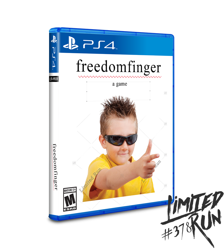 Limited Run #378: Freedom Finger (PS4)